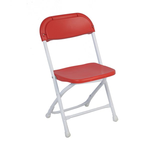 Kids Folding Chair Red Rentastic Party Event Rental